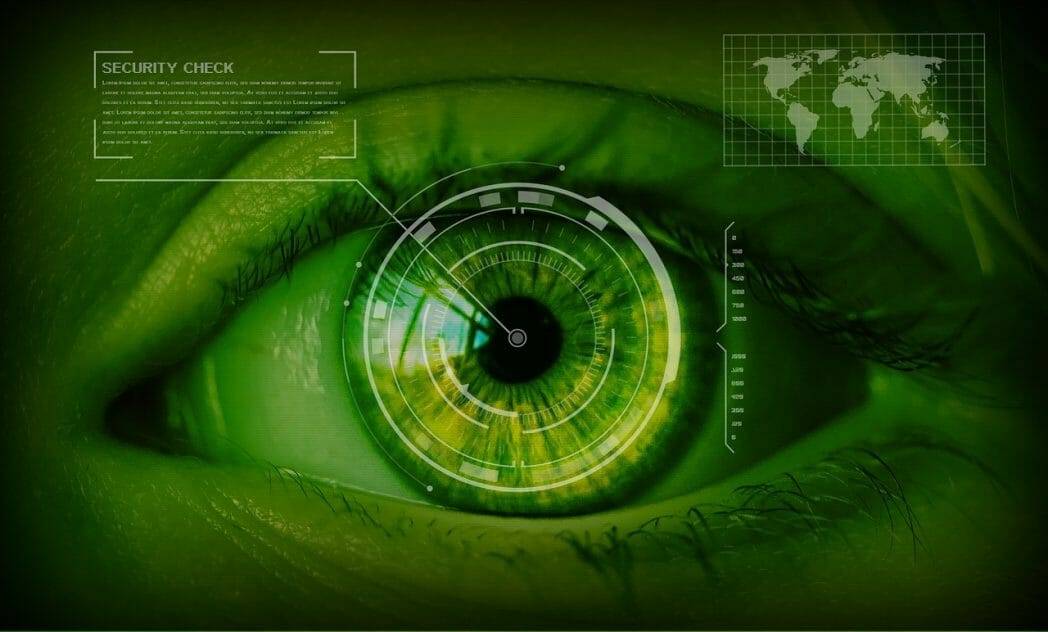 Online Safety - Image of Eye